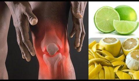 cáscara de limón sirve para los dolores de las articulaciones
